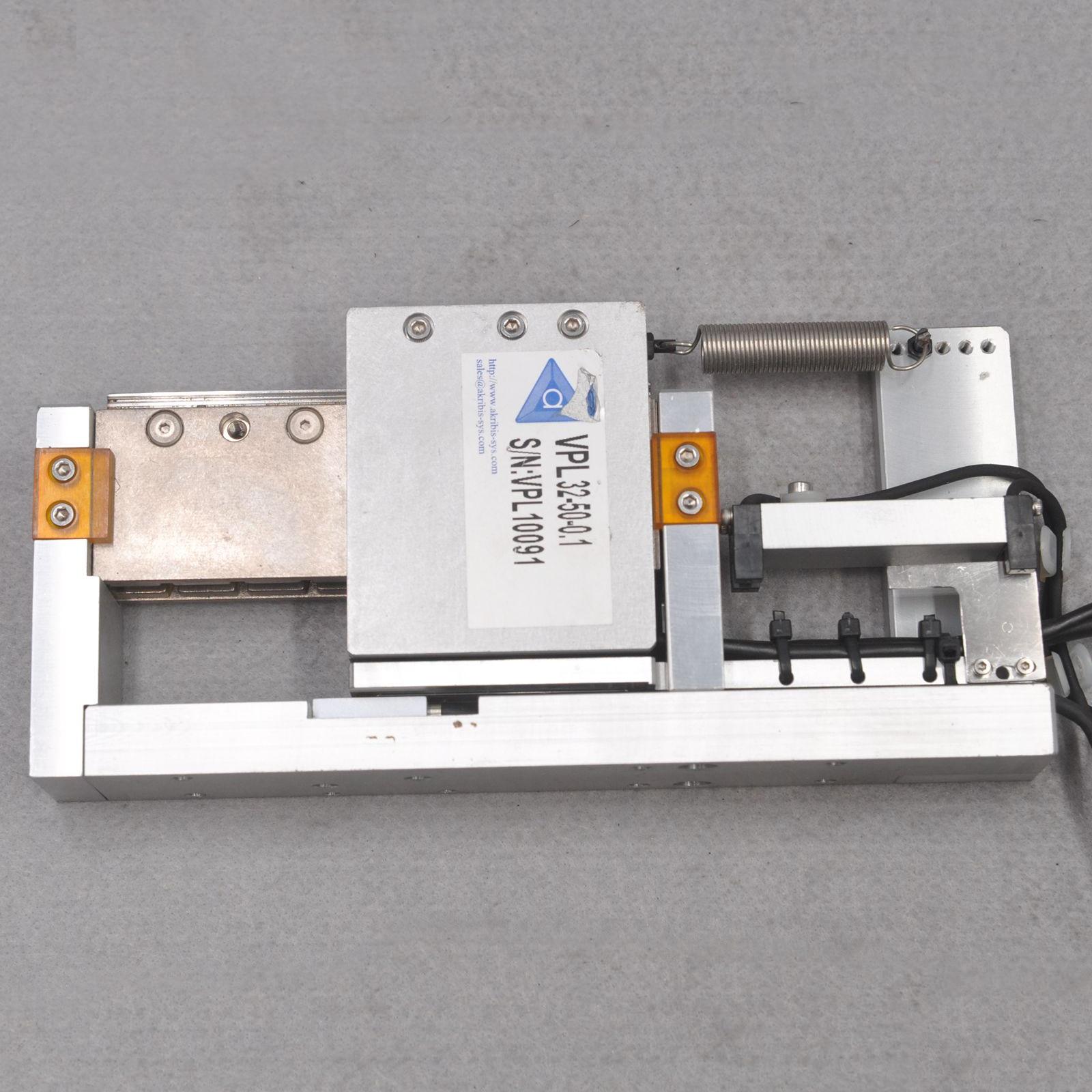 Akribis VPL32-S2-50-0.1 ironless vertical pickup linear motor platform 1 enlarge