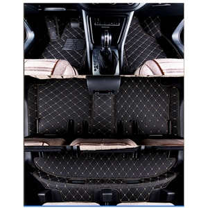 Custom special car floor mats for Mazda CX-9 7 seats 2019 waterproof car carpets for CX9 2018-2017
