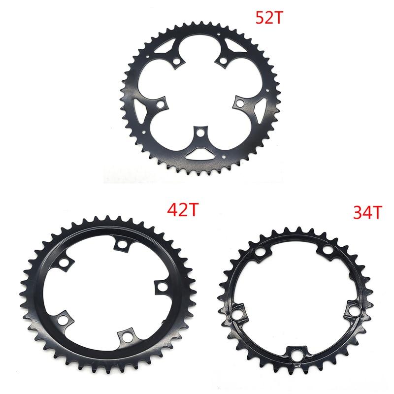 34/42/52T Ebik части кольца цепи 34-52T Электрический велосипед цепь кольцо колеса замена оригинальный для Tongsheng TSDZ2 двигатель