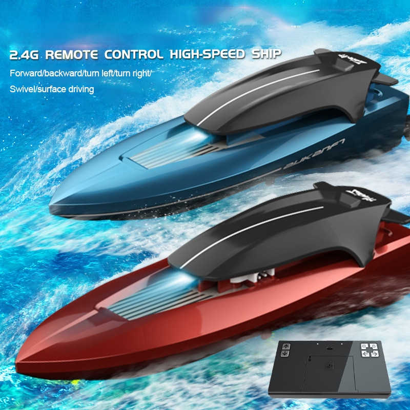 High Speed RC Boat 15km/h 2.4GHz 4 Channel Electric Workbale on The Water Radio Remote Control Racin