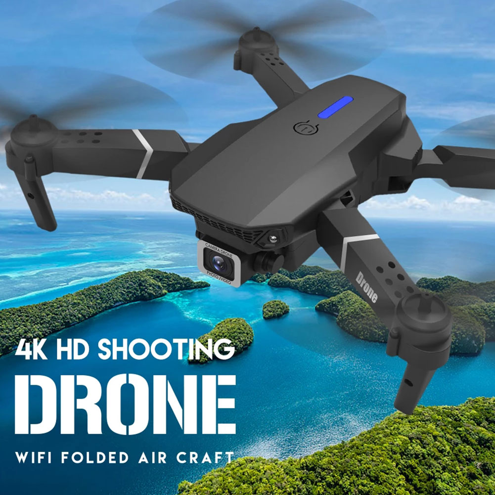 2021New E88Pro Drone 4k Profesional Gps Hd 4k Rc Airplane Dual-Camera Wide-Angle Head Remote Quadcopter Airplane Toy Helicopter 6