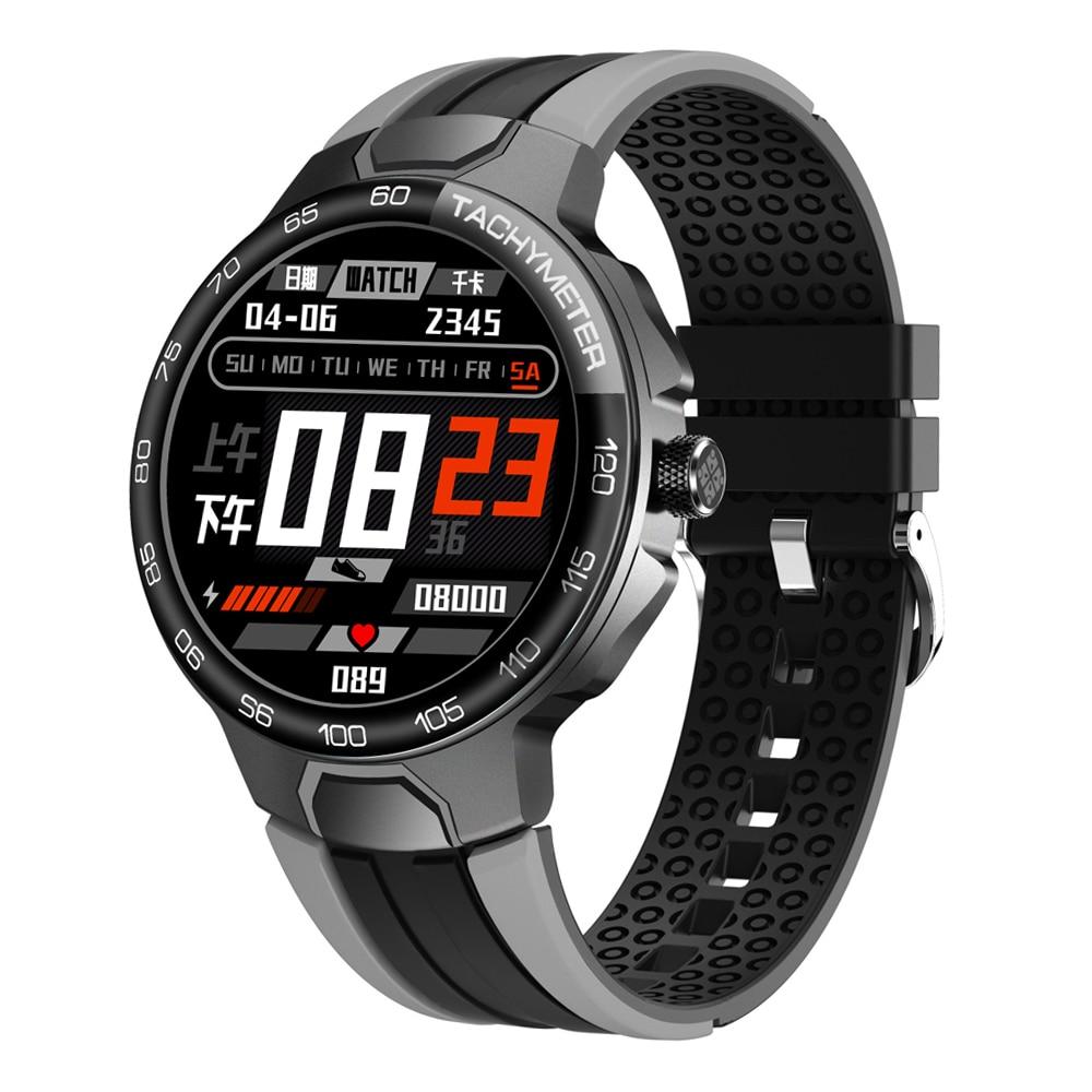 24 Sports Mode Smart Watch Men IP68 Waterproof GPS Track Swimming Fitness Tracker Smartwatch Heart Rate Blood Pressure Band
