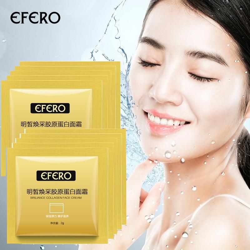 30-10Packs Collagen Anti-aging Face Cream Hyaluronic Acid Moisturizing Anti-wrinkle Lifting Firming Face Whitening Skin Care недорого