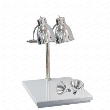 Двойные лампы для быстрого питания, тепловая лампа для подогрева пищи, столешница, коммерческая