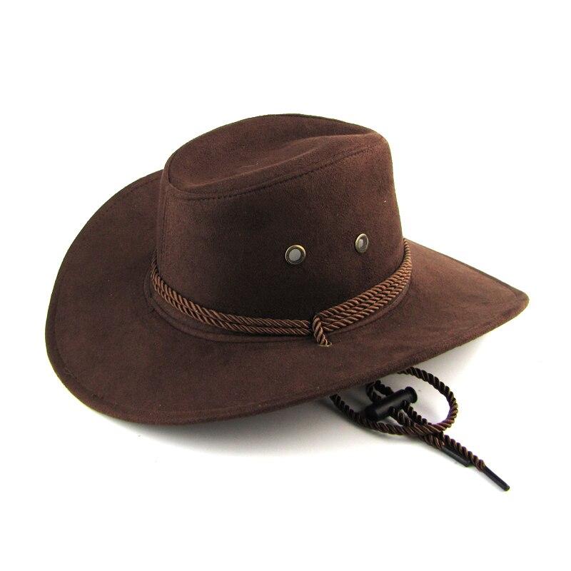 2020 New Arrival Men Women 3 color Large brim hat cowboy hat for man millinery outdoor hat sunbonnet casual fashion mens hat