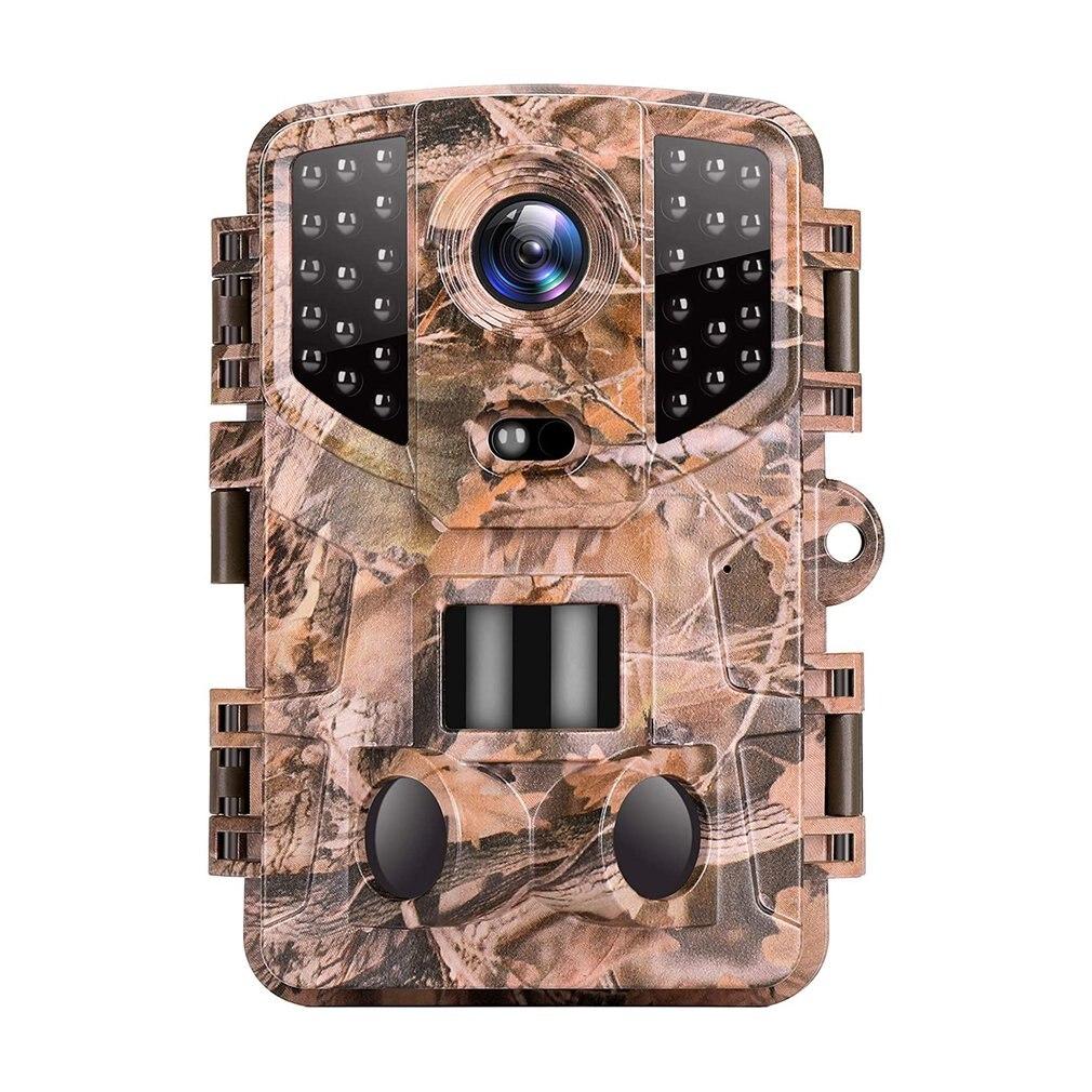 1080p كاميرا صيد للرؤية الليلية كاميرا مضادة للماء مع أجهزة استشعار الأشعة تحت الحمراء 120 درجة نطاق الكشف عن مراقبة الحياة البرية