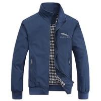 jaguar car 2021 spring autumn casual solid fashion slim bomber jacket men overcoat new arrival baseball jackets men jacket m 8xl