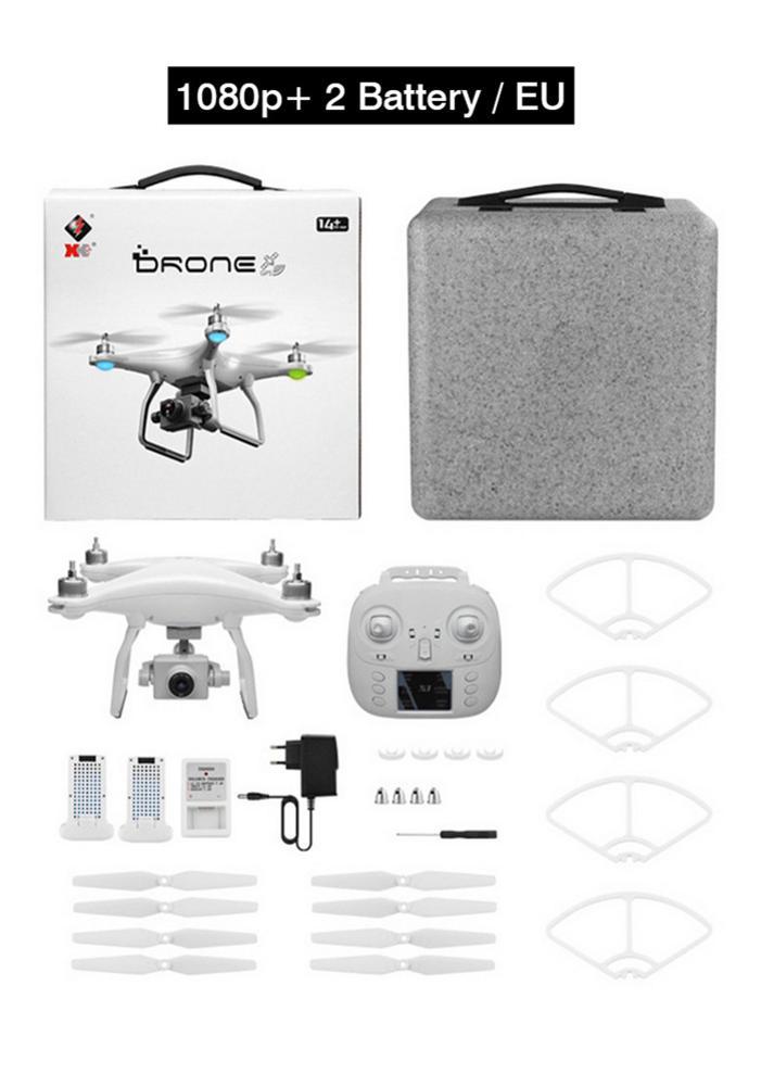 Dron de Control remoto WLtoys XK X1s GPS 5G WiFi FPV Quadcopter mantenimiento de altitud OneKey retorno 4 ejes Drone sin escobillas Motor cámara HD