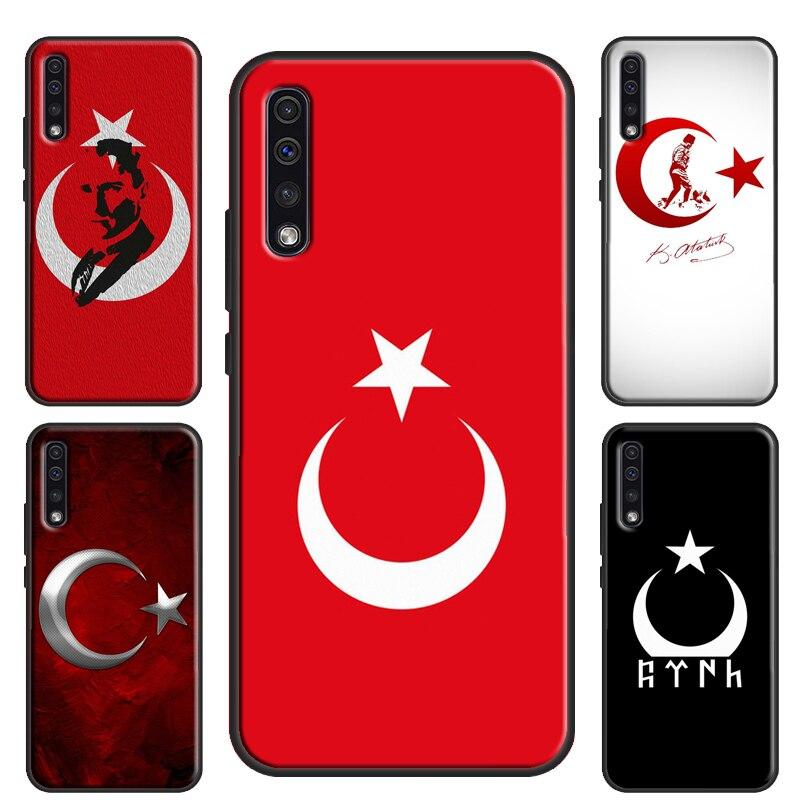 Türkei Ataturk Turquia Caixa Da Bandeira Para Samsung Galaxy S10 S20 Ultra S8 S9 Plus Nota 10 S10e A10 A30S A40 A50 A70 A51 A71
