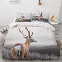 Simple Bedding Sets 3D Plant Flower Duvet Quilt Cover Set Comforter Bed Linen Pillowcase King Queen Full Double Home Texitle