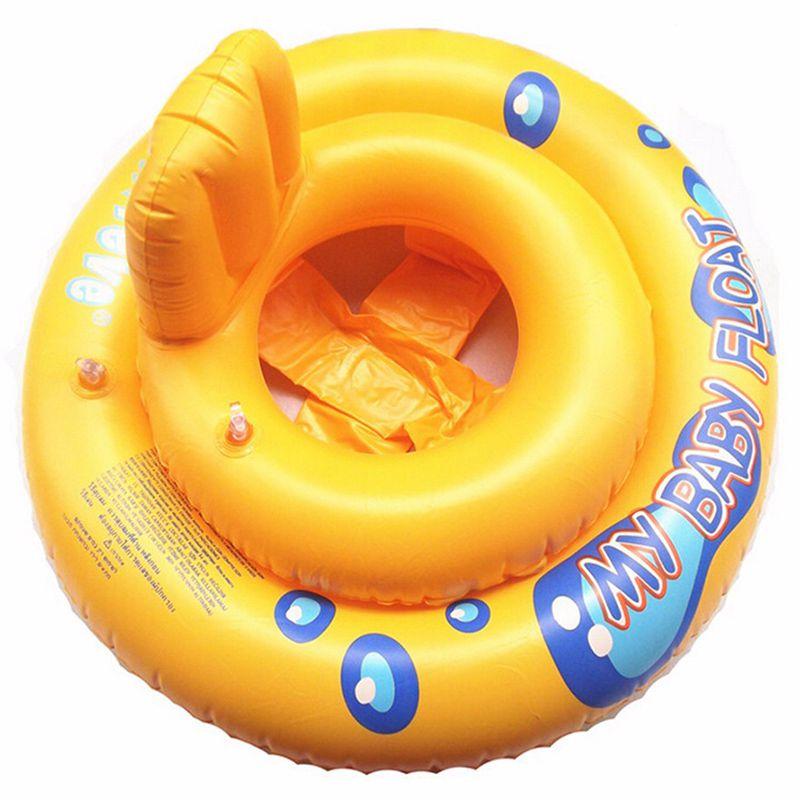 Bebé Infante niños niño asiento de natación piscina flotador anillo baño flotabilidad ayuda diversión con agua
