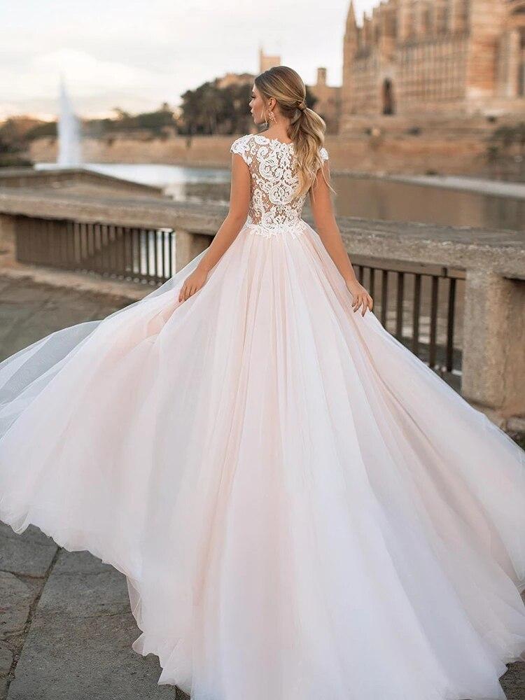 Wedding dress Lace wedding dress o-neck sleeveless 3d flower wedding gown atmosphere retro lace big skirt plus size