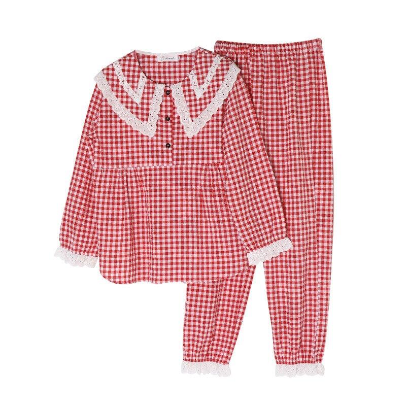 Nursing Pajamas Lace o-neck Pregnant Breastfeeding Nightgown Women Maternity Fashhion Sleepwear for Pregnancy Nightwear enlarge
