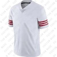 custom mens american football san francisco stitch george kittle trey lance nick bosa deebo samuel team jerseys