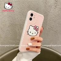 hello kitty for iphone 78pxxrxsxsmax1112pro12mini cute silicone anti drop phone case