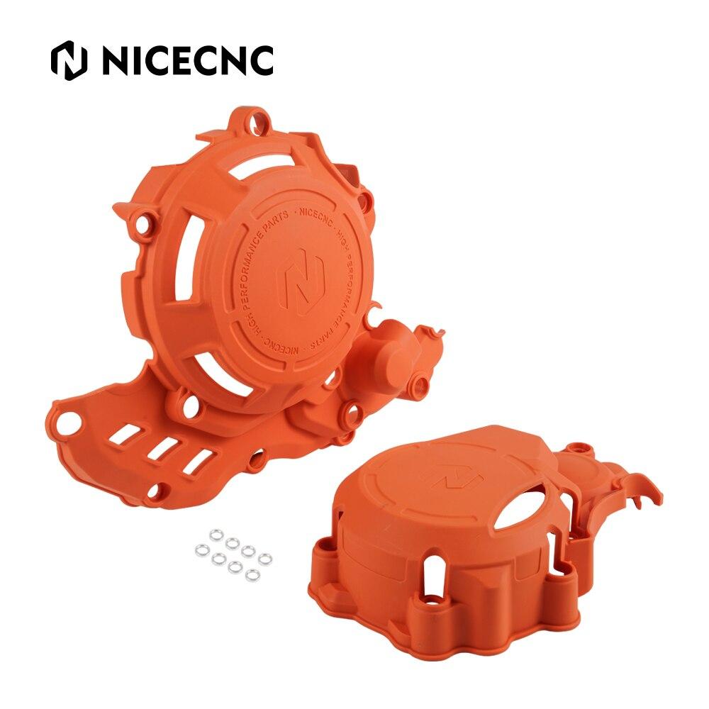 NICECNC الإشعال غطاء القابض معدات الحماية ل KTM EXC-F 250 350 17-22 XCFW 350 20-22 FREERIDE 4T 250F 19-20 الغاز الغاز 21-22