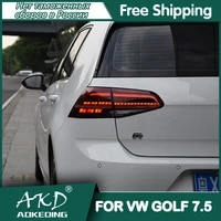 akd car styling tail light for vw golf7 golf 7 5 mk7 5 2017 2019 led rear tail lamp drlbrake trunk light automobile accessories