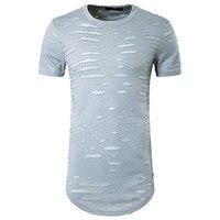 6125-2017 Summer New Lycra Cotton Fashion Print Slim Short Sleeve T-Shirt Men\'s Round Neck Short Sleeve T-Shirt