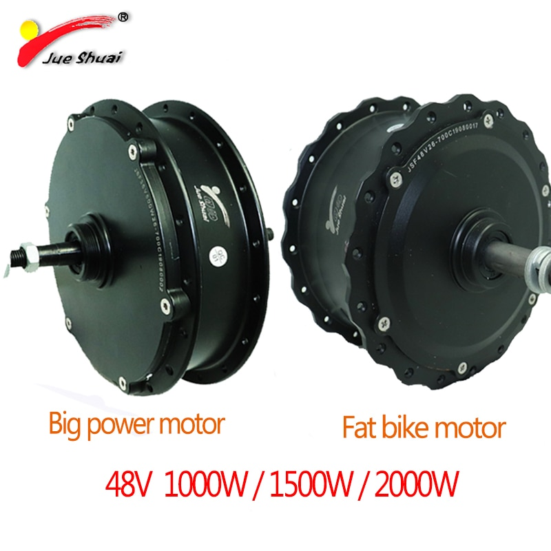 Ebike electric bicycle 48V 1000-2000W Big power Electric Bike Hub Motor high speed Conversion Kit Rear Motor Drive Brushless