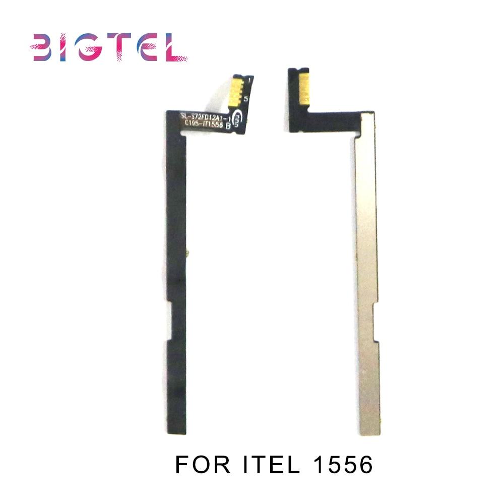 5 Pcs/Lot Original For Itel 1556 6900 6910 Side Power ON OFF Volume Key Button Switch Flex Cable Ribbon Repair Parts недорого