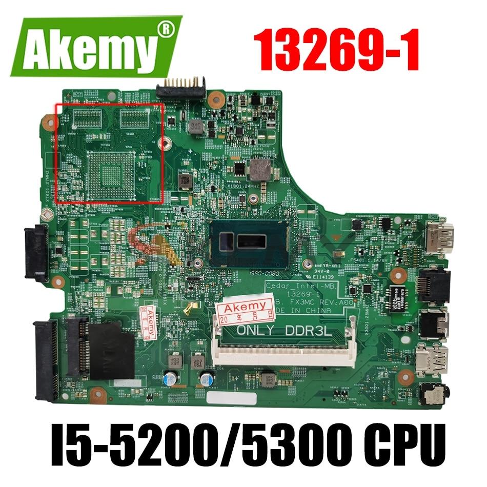 CN-0THVGR THVGR 0THVGR لأجهزة الكمبيوتر المحمول Dell Inspiron 3442 3542 5748 اللوحة الأم 13269-1 FX3MC I5-5200/5300 CPU 100% تم اختبارها بالكامل