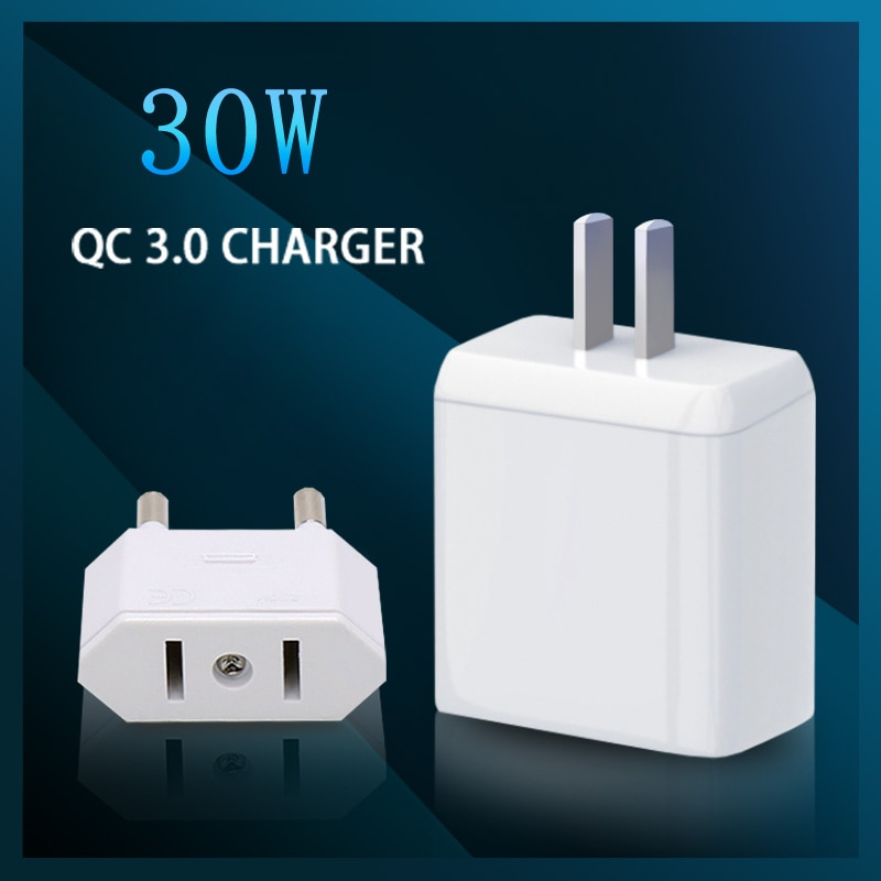 EXPUNKN 3A Quick Charge QC3.0 USB Charger For iPhone 11 Pro 8 Wall Mobile Phone Charger Adapter Fast