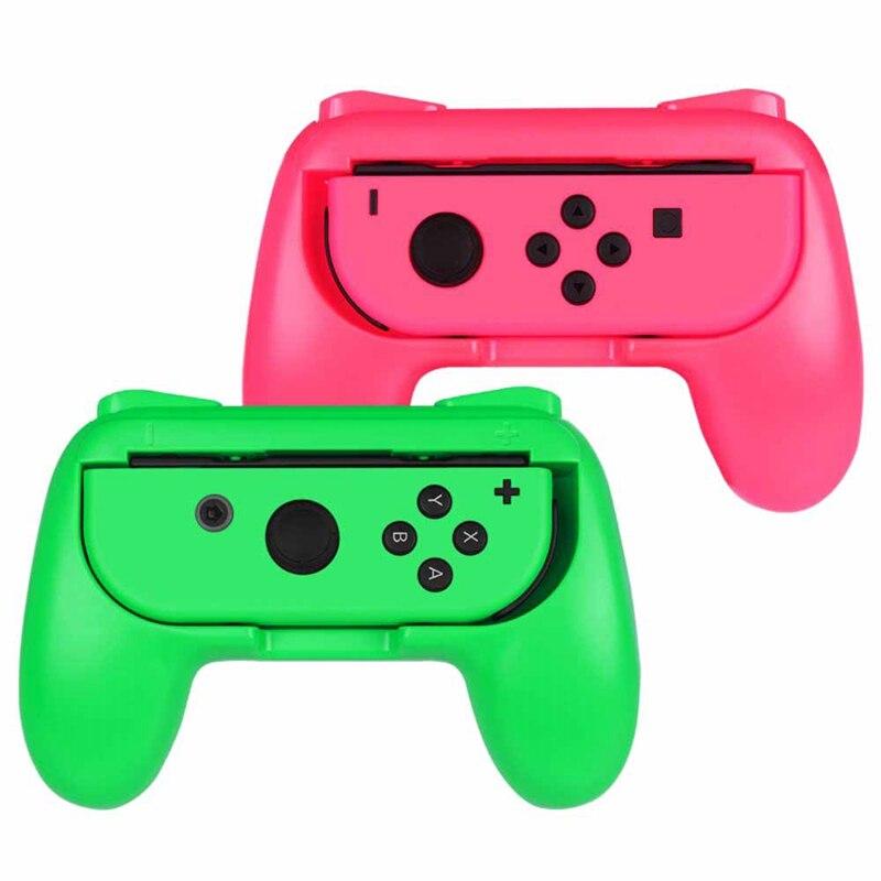 Agarre JABS para Nintendo Switch Joy-Con, [diseño ergonómico] resistente al desgaste cómodo juego controlador Kit de mango para Nintendo Switch