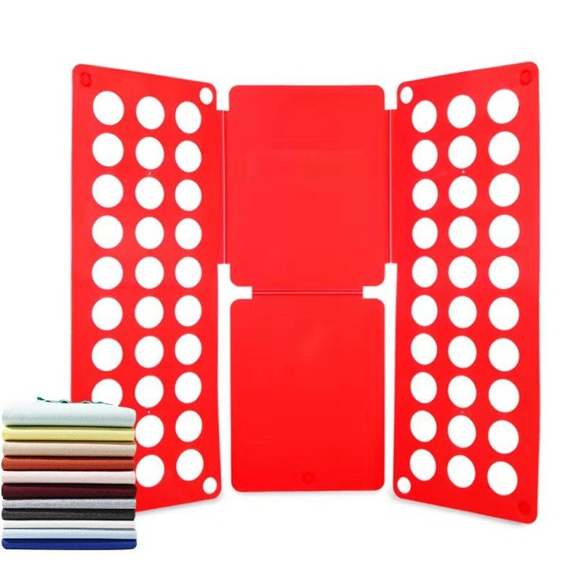 Quality adult magic folder T shirts jumpers double organizer save time fast clothes folding board clothes holder clothes folding board fast cloth folder plastic t shirts jumper organizer save time quick convenient stacking laundry fold board