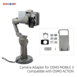 Camera Adapter Mount Holder Bracket for OSMO MOBILE 3 and OSMO ACTION