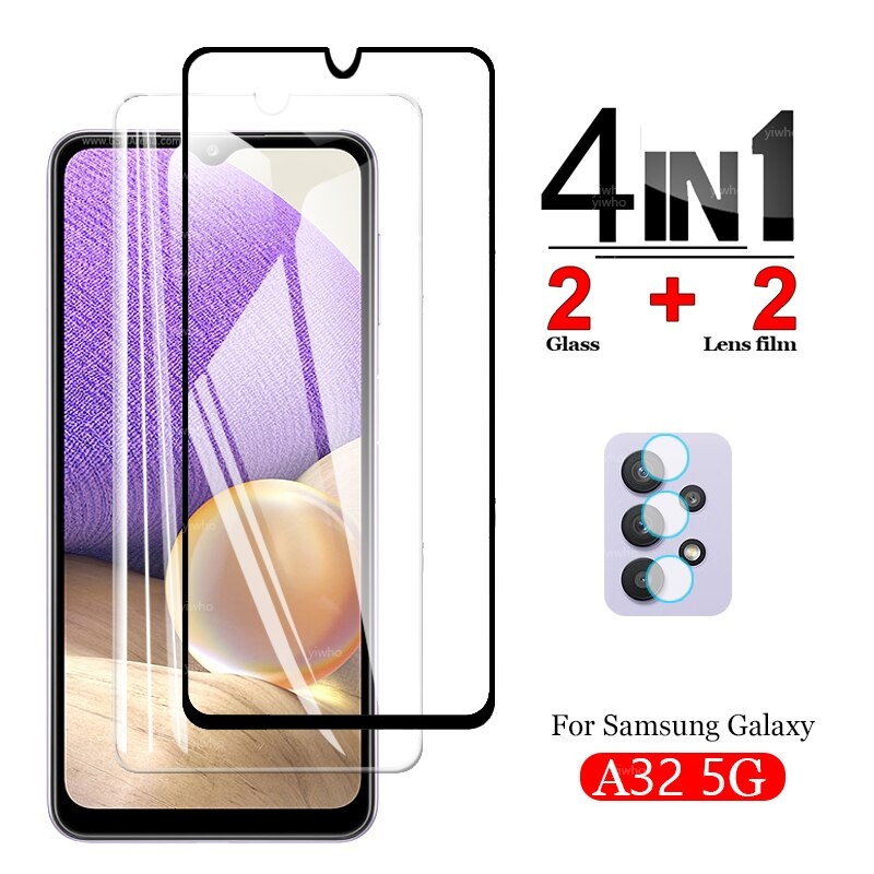 Protective Glass for Samsung Galaxy A32 5G Screen Protectors Tempered Glass for Galaxy A32 5G Glass