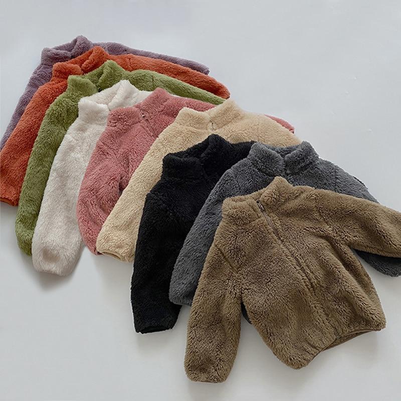 Kids Winter Coats Children Outerwear Boy Warm Fleece Jacket Baby Girls Jackets For Autumn Spring Children Clothing