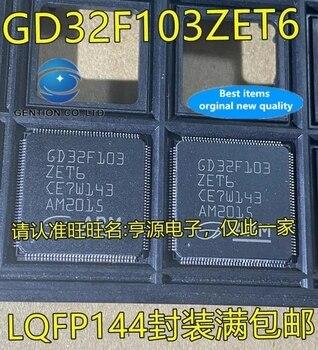 400pcs real photo 100% new and orginal GD32F103 GD32F103ZET6 LQFP144 MCU microcontroller IC microcontroller