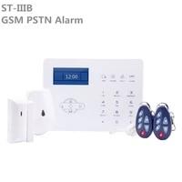 Systeme dalarme de securite domestique intelligent sans fil  GSM PSTN  avec commande par application  commande vocale en anglais  promotion