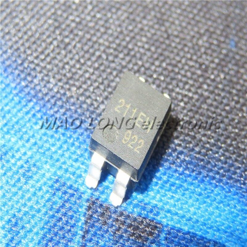 50PCS/LOT  AQY211EH  NAIS211EH  SOP4  SOP-4   Optocoupler  Photoelectric coupling