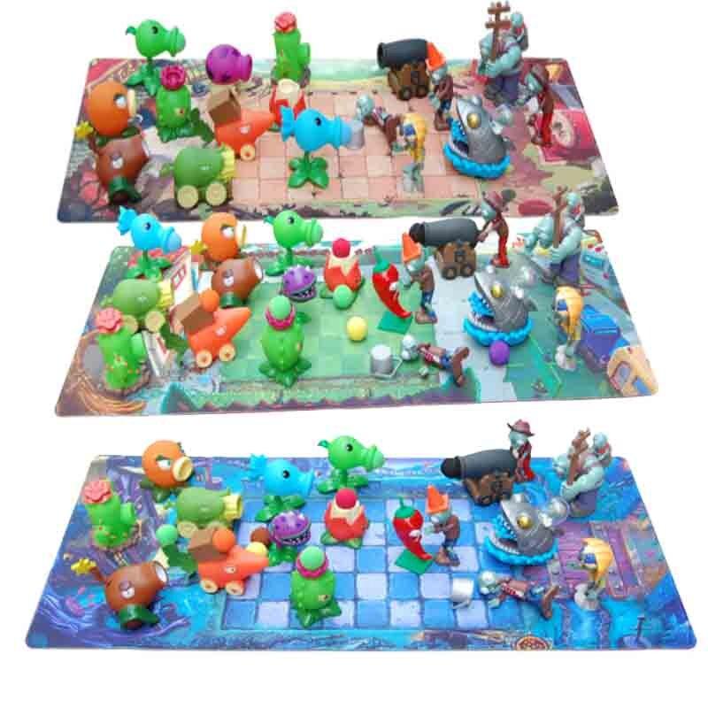 2020 nuevos juguetes para niños figuras de juguete de acción plantas de Pvz Vs juguete de Zombies lanzamiento divertido regalo de Navidad de cumpleaños sin caja