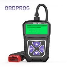 OBDPROG MT100 OBD2 Scanner lecteur de Code outil de Diagnostic de voiture multi-langue I/M préparation OBD2 Scanner automobile PK Elm327 V1.5