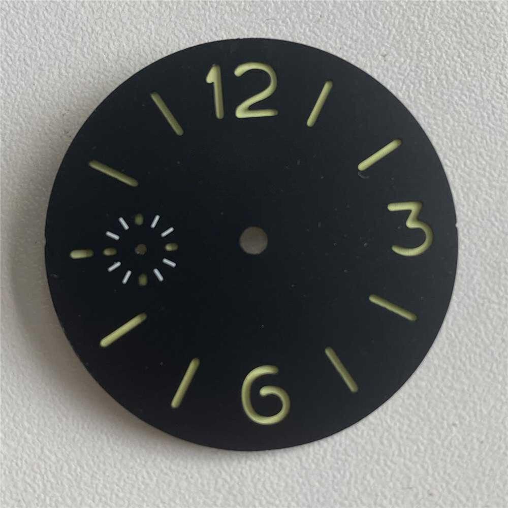 Reloj de Dial de repuesto con escala de 36/37mm para reloj de movimiento Eta 6497/6498 para gaviota, serie ST3600/ST3620, movimiento mecánico