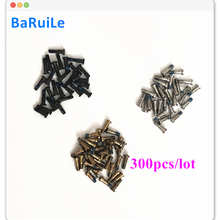BaRuiLe 300pcs Back Cover Screw for iPhone 7 8 Plus 8X Pentalobe Dock Bottom Case Screws for iphone 6S 6 Plus 5S X Quicker Ship