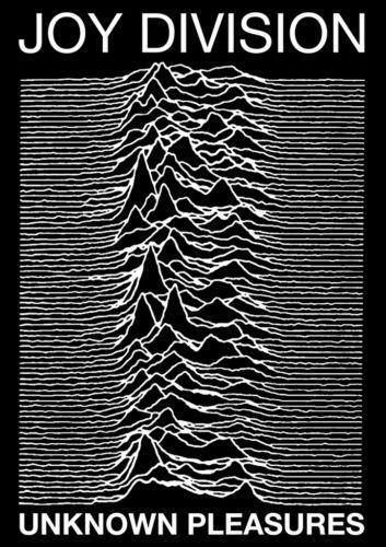 Hot Rare Unknown Pleasures by Joy Division 1979 Art SILK POSTER Wall Art Home Decorative painting