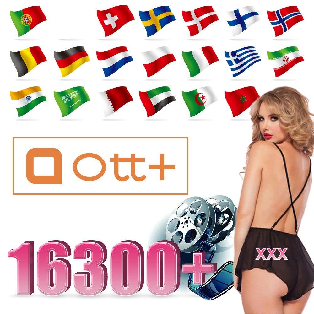 Ott plus xxx europa ip árabe tv alemanha bélgica holanda holandês suporte android caixa de tv ip xxx tv inteligente nenhum aplicativo incluído