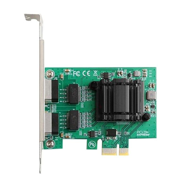 ل إنتل 82571 PCI-E X1 جيجابت بطاقة الشبكة PCI اكسبرس إيثرنت محول 1000Mbps دعم ويندوز سيرفر/لينكس/فمواري