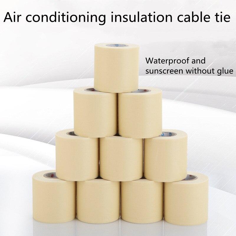 6 см x 11 м ПВХ водонепроницаемая ремонтная деталь для кондиционера, лента для оборачивания воздуха, кондиционер, ремень для оборачивания
