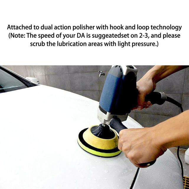 6 inches2020 New 6 Clay Bar Polish Polishing Pad Pad Car Wash Maintenance Detailed Commercial Grade VIP