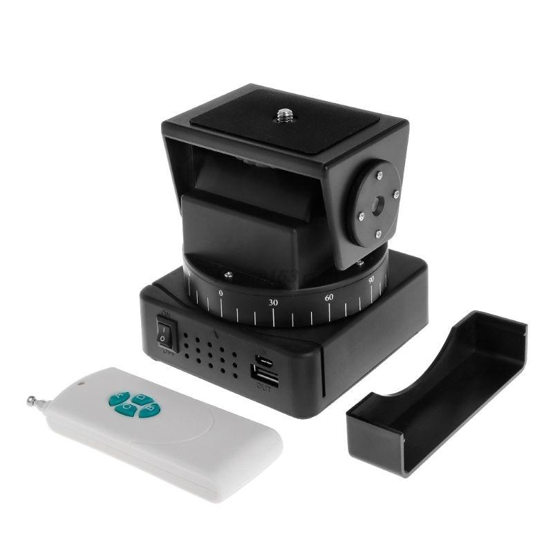 Pan Tilt Fernbedienung YT-260 Motorisierte Automatische Stativ Mount Adapter Kamera Extreme Wifi Smartphone