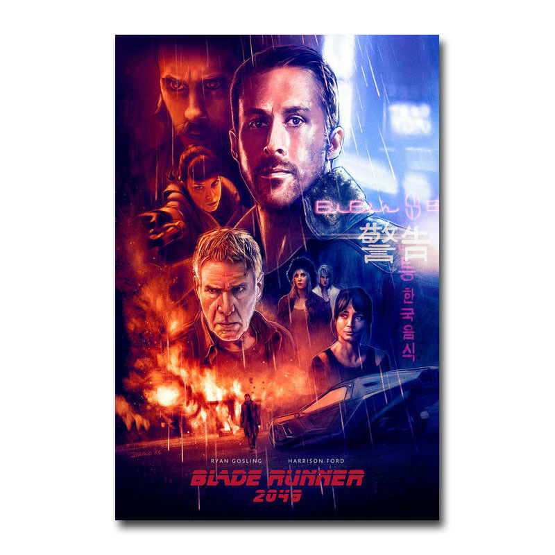 L0013 Blade Runner 2049 tela de seda película Poster arte decoración interior pintura regalo