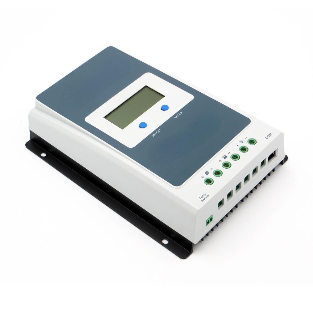 MPPT الشمسية جهاز التحكم في الشحن 10A 20A 30A 40A 12 فولت/24 فولت التتبع لوحة بطارية منظم الطاقة شاحن ماكس PV 60 فولت جهاز تحكم يعمل بالطاقة الشمسية