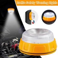 LED Car Emergency Light V16 Strobe Light Portable Road Flares Magnetic Beacon Help Roadside Traffic Safety Warning Light Sign