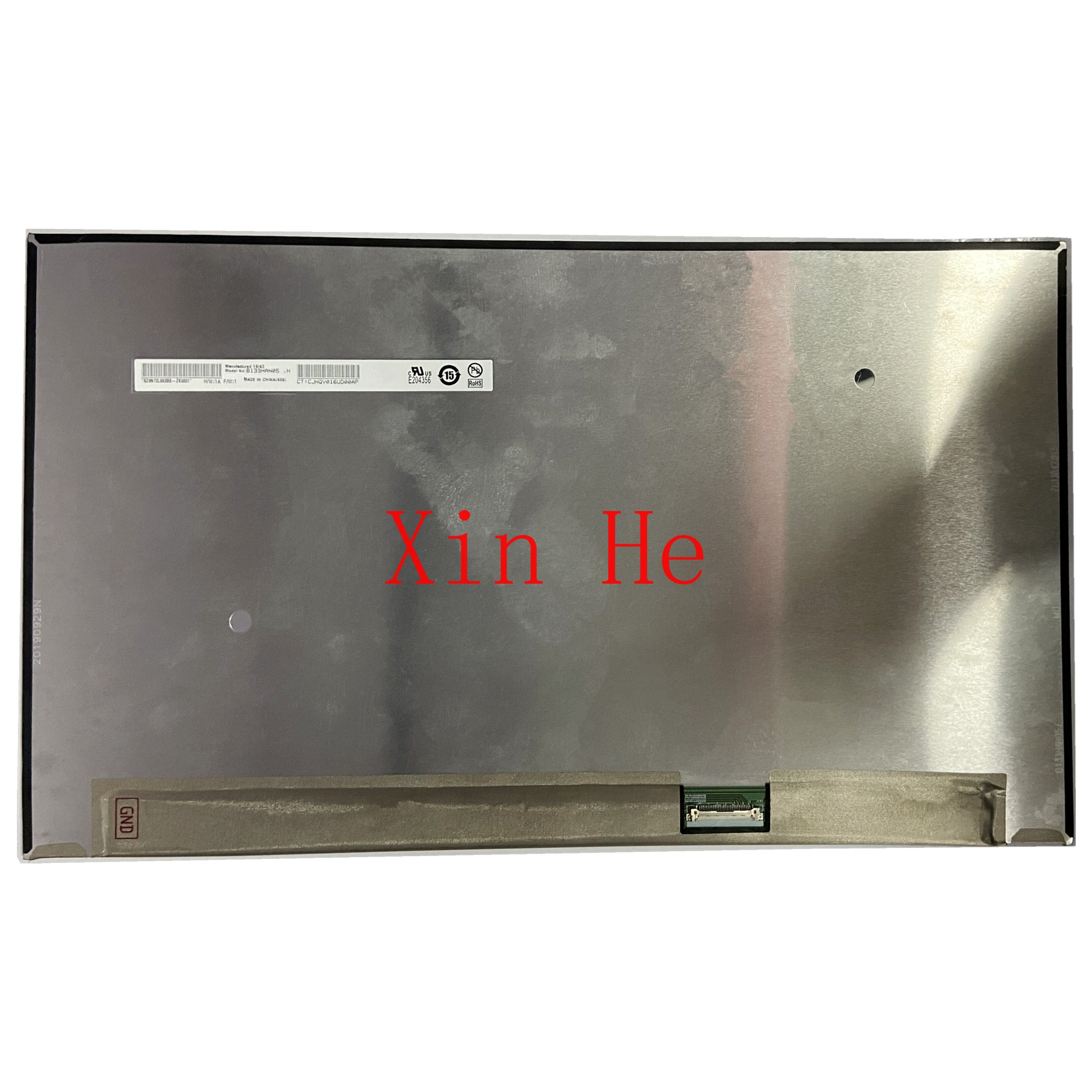 B133hanبألوان h 13.3 ''IPS شاشة لاب توب Lcd استبدال العرض 1920*1080 EDP 30 Pins