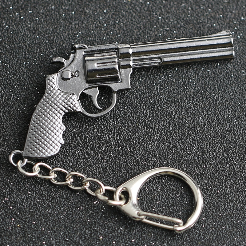 CS GO CSGO CF брелок револьвер Magnum Ходячие мертвецы Рик грим пистолет оружие счетчик удар брелок кольцо оптовая продажа