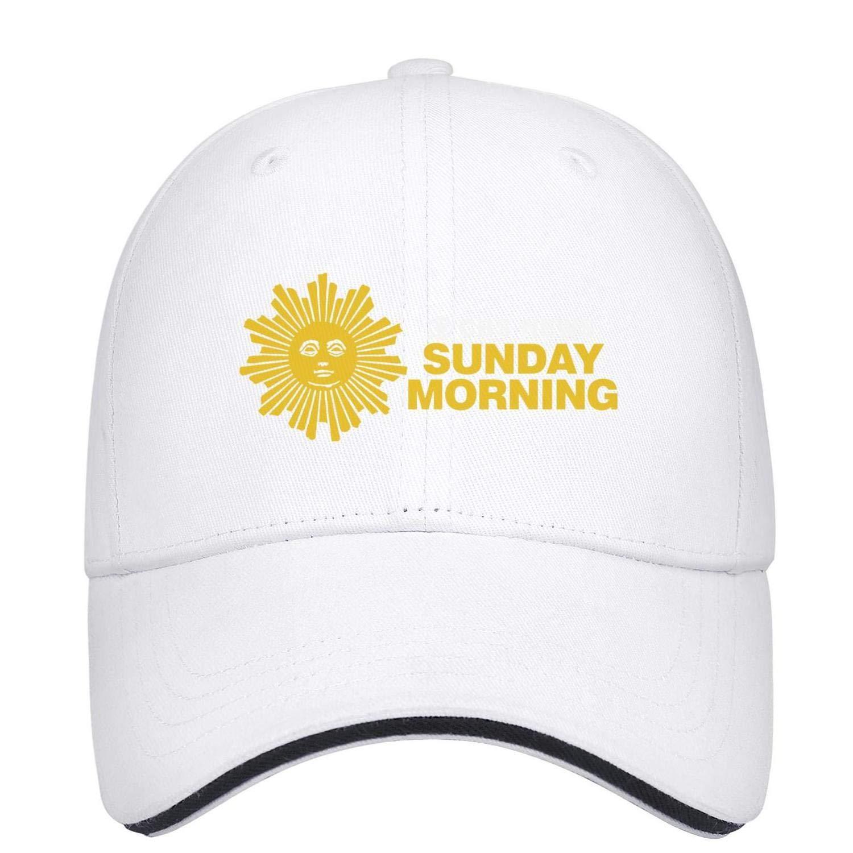 CBS-News-moring-Logo- Unisex Casual Baseball Hats Classic Adjustable Cap
